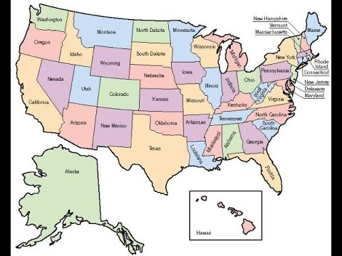 The States of the USA in Chronological Order