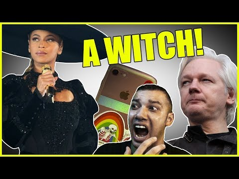 Assange Warns About AI, Is Beyonce A Witch, And Apples Trust Score Exposed
