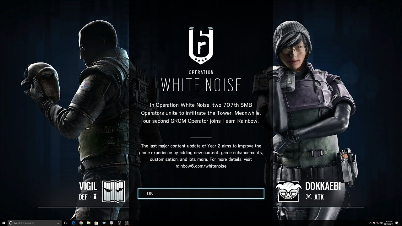 Rainbow six siege white noise first start up screen dokkaebi vigil zofia season pass skins youtube - Rainbow six siege vigil wallpaper ...
