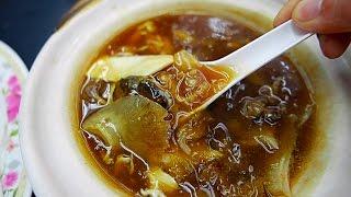 thức ăn đường phố Thái Lan - cá mập súp vây Bangkok