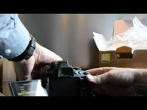 HD - Unboxing - Nikon D5100 & AF-S VR 55-300mm - German
