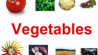 Vegetables for kids.