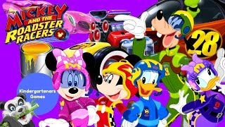Mickey & the Roadster Racers Coloring Disney Junior Racing Team