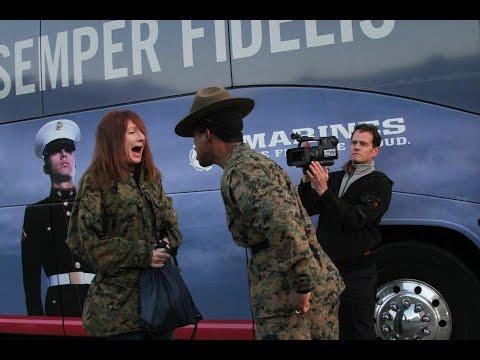 Teachers Meet Drill Instructor - Civilian Experience the United States Marine Corps Recruit Training