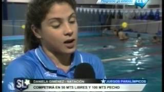 Daniela Giménez Parte Rumbo A Los Juegos Paralímpicos