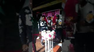 EDEN KASH performing along side Kezzy wizzy at Mariana bar Abaita Entebbe