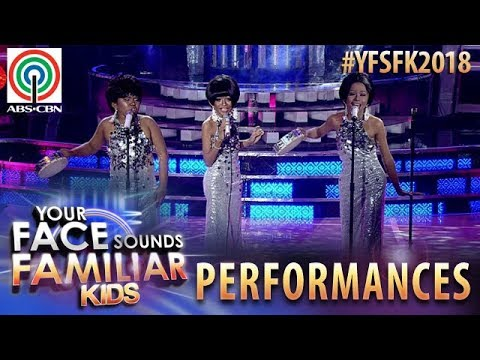 Your Face Sounds Familiar Kids 2018: TNT Boys as The Supremes | Can't Hurry Love
