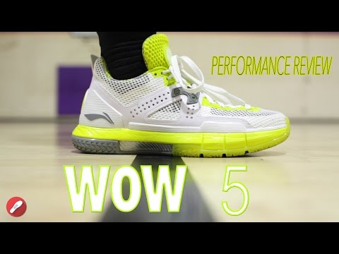 Li-Ning Way Of Wade 5 Review! (WOW5)