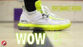 Li-Ning Way Of Wade 5 Review! (WOW5)