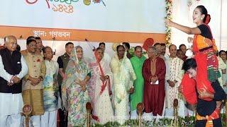 মঞ্চে গান গাইলেন প্রধানমন্ত্রী শেখ হাসিনা!! দেখুন ভিডিও | Sheikh Hasina | Bangla News Today