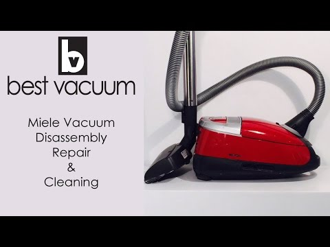 How to clean vacuum cleaner motor doovi for Miele vacuum motor burn out