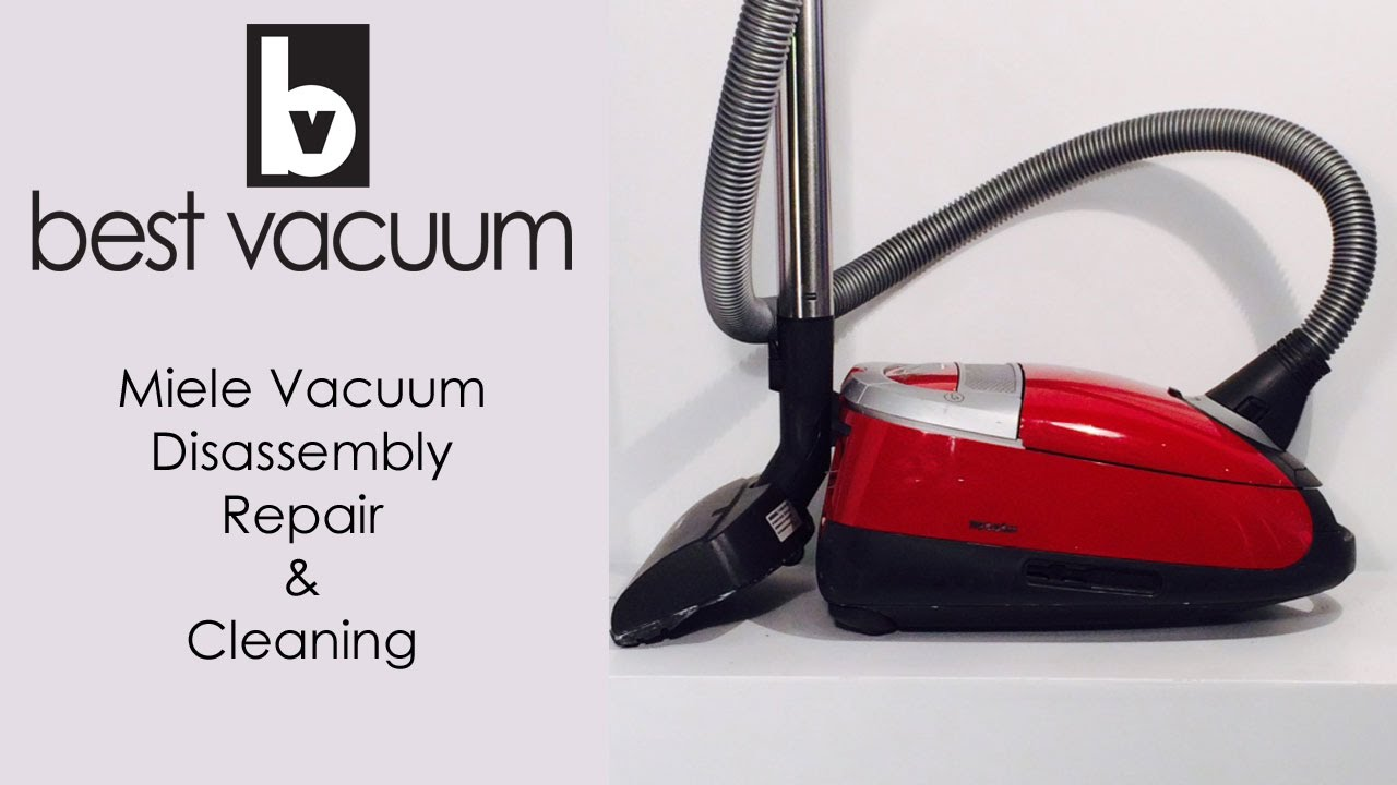 Best Vacuum Repair   See How We Repair And Recondition A Miele Vacuum    YouTube