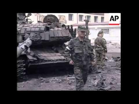 Dramatic Firefight On Bridge, Damage, Military Dead, Civilians