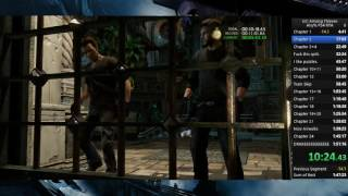 Uncharted 2 Any% PS4 Speedrun 1:43:33