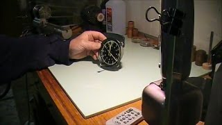 How to repair a 1967 corvette in dash clock.