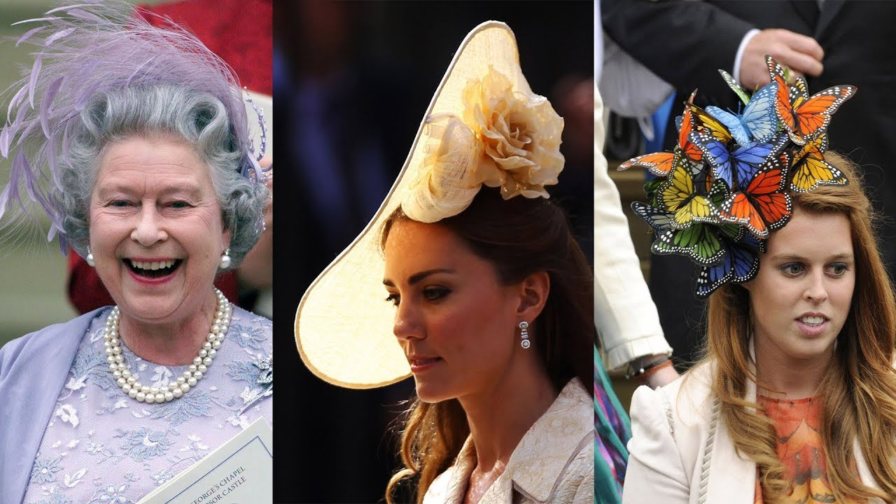 Biggest and Best Royal Wedding Hats of All Time - YouTube 8eda99b2563