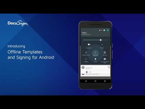 Introducing Offline Templates and Signing for Android