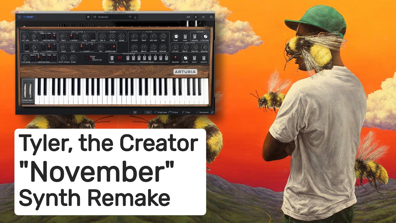 Tyler, the Creator Synth Sounds | Reverb Machine