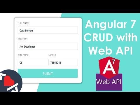 angular-7-crud-with-web-api