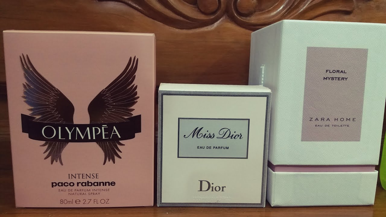Olympea Intensemiss Dior Edpzara Home Floral Mystery Review Youtube