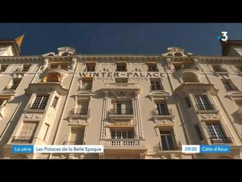 Les palaces de la belle époque à Menton : L'hôtel Winter-Palace