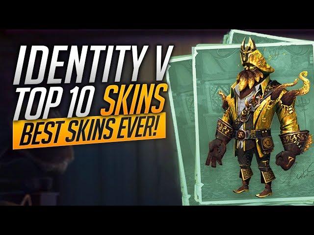 TOP 10 BEST SKINS in Identity V!
