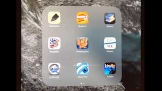 Kindle App On iPad, iPhone Or iPad Touch - How I Get It To Read Out Loud