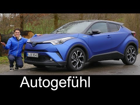 Toyota C-HR FULL REVIEW Hybrid SUV CHR 2018 - Autogefühl
