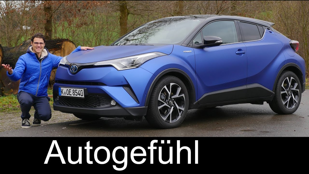 toyota c hr full review hybrid suv chr 2018 autogef hl youtube. Black Bedroom Furniture Sets. Home Design Ideas