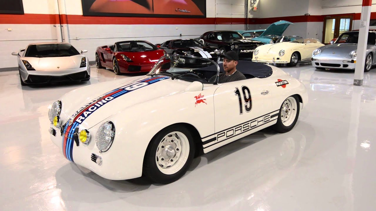 1957 Vintage Speedster Martini Racing Youtube