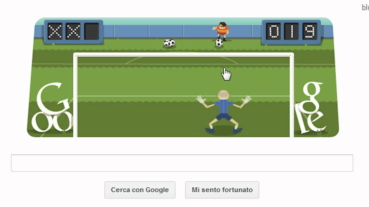 Interactive Google Soccer Doodle Online Video Game
