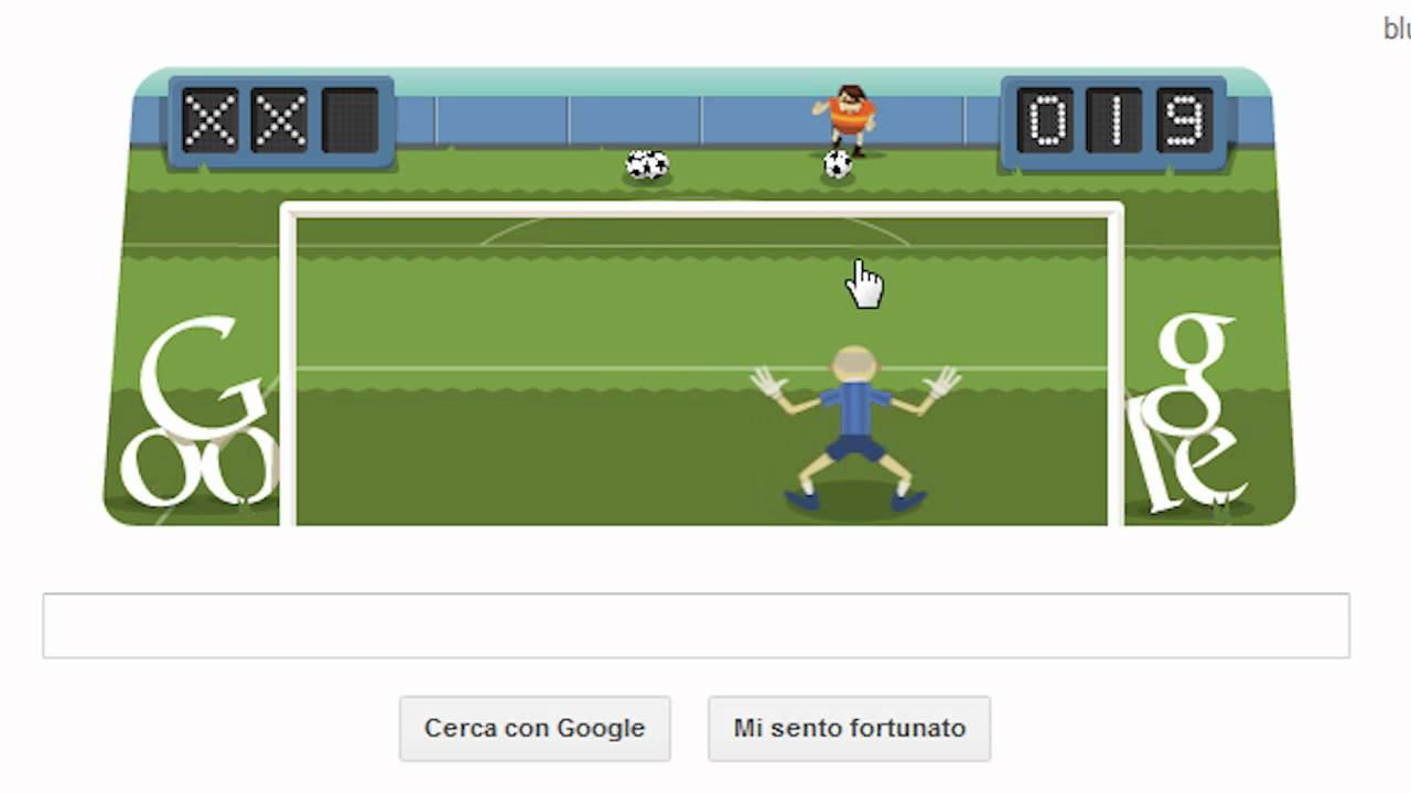 Interactive Google Soccer Doodle Online Video Game