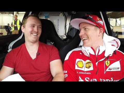 My Awkward Interview With Kimi Räikkönen