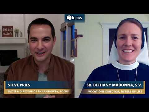 Sr. Bethany Madonna, S.V. | Seeing God in All Things | FOCUS Fervorino