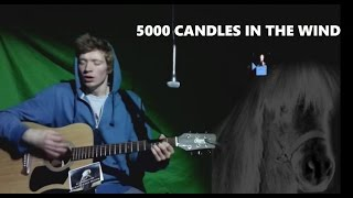 5000 Candles In The Wind - Cover