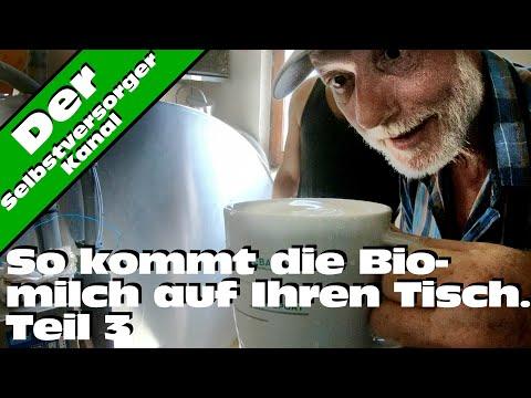 So kommt die Biomilch auf Ihren Tisch Teil 3. Der Melkroboter.