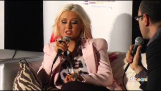 Christina Aguilera Billboard Film & TV Music Conference part 1