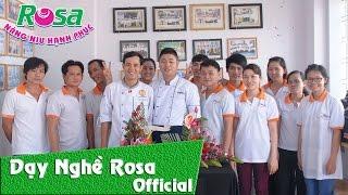 Dạy nghề ẩm thực - thẩm mỹ Rosa - 2013