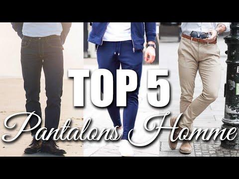 TOP 5 PANTALONS POUR HOMME