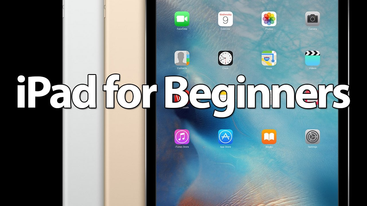 easy introduction to ipad for beginners in 30 minutes youtube rh youtube com Using an iPad in Europe iPad User