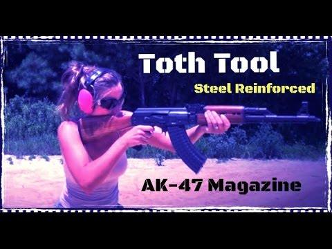Toth Tool Steel Reinforced USA Made AK-47 Magazine Review (HD)