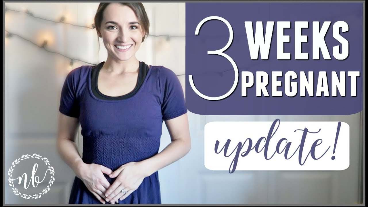 3 WEEKS PREGNANT | How I knew I was pregnant before BFP!
