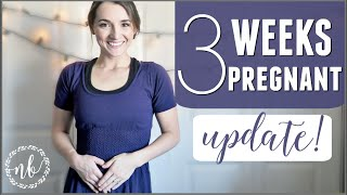 3 weeks pregnant   how i knew i was pregnant before bfp