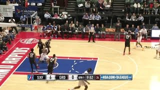 Hasheem Thabeet posts 24 points & 10 rebounds vs. the Skyforce, 4/1/2015