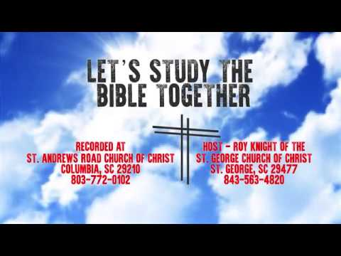 Let's Study The Bible Together - Episode 18 - Acts 9: 23-43
