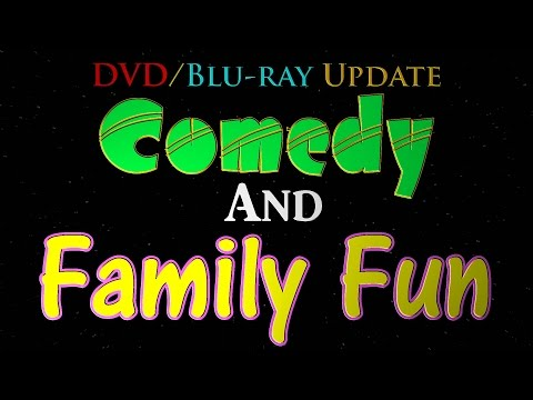 DVD/Blu ray Update - Comedy and Family Fun