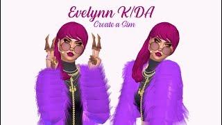 CREATE A SIM - K/دا EVELYNN - لول - THE SIMS 4