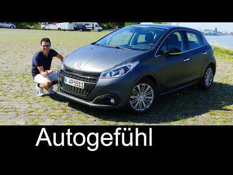 2016 Peugeot 208 Facelift FULL REVIEW test driven Allure Blue HDi 100
