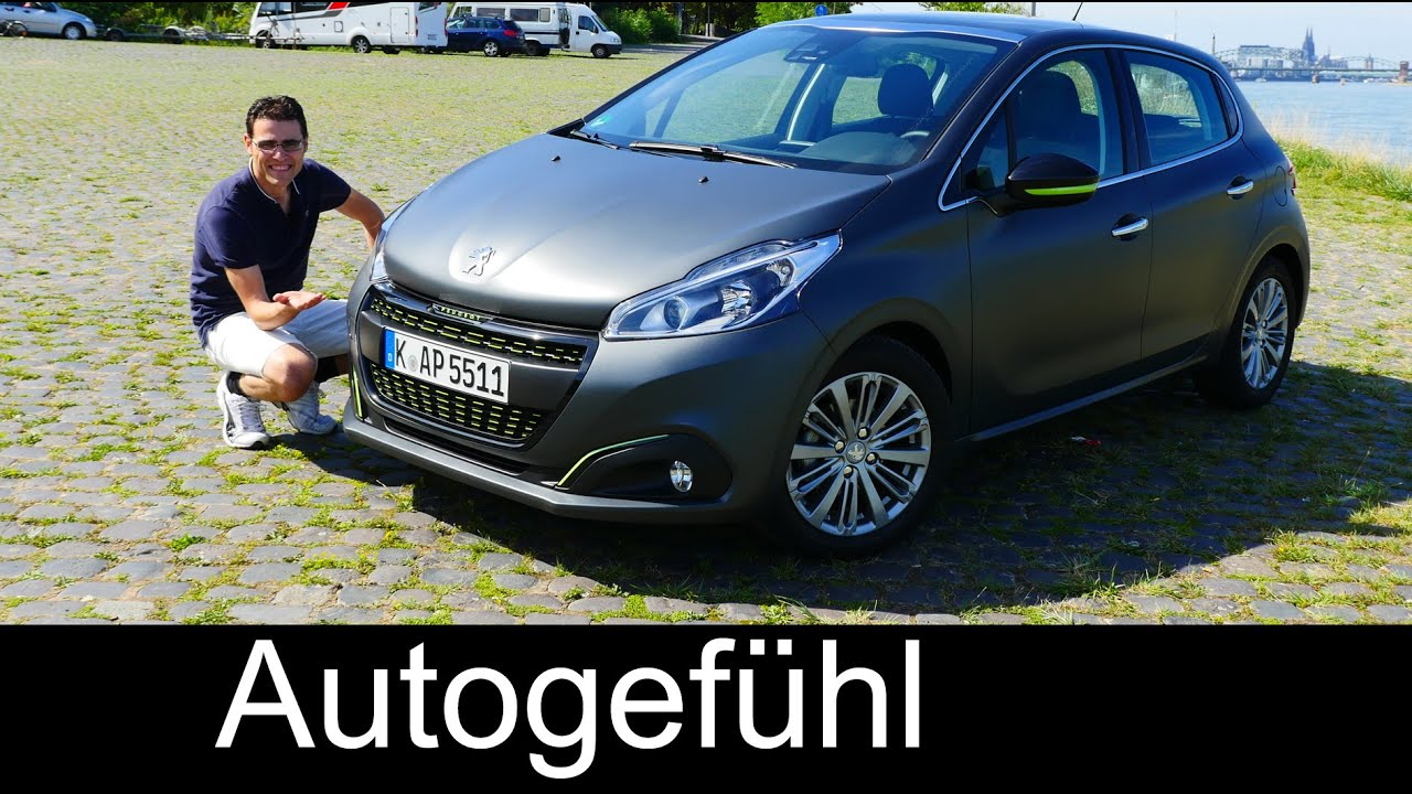 2016 peugeot 208 facelift full review test driven allure blue hdi 100 youtube. Black Bedroom Furniture Sets. Home Design Ideas