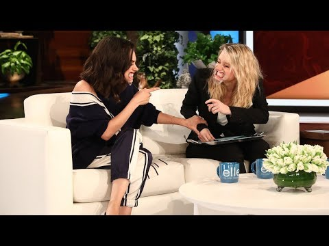 Mila Kunis & Kate McKinnon Play 'Speak Out'